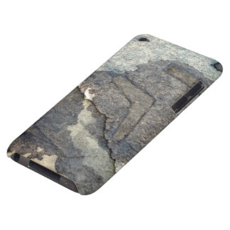 gray-blue background watercolor 2 barely there iPod case