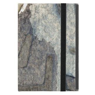 gray-blue background watercolor 2 case for iPad mini