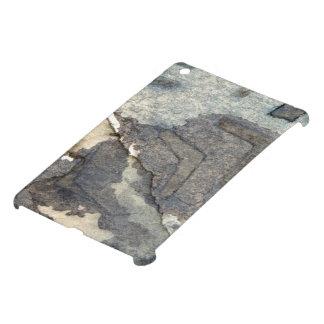 gray-blue background watercolor 2 iPad mini case