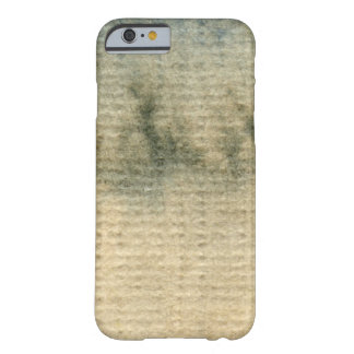 gray-blue background watercolor 6 barely there iPhone 6 case