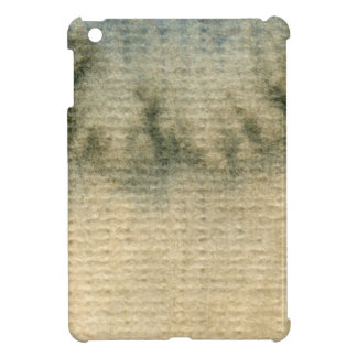 gray-blue background watercolor 6 case for the iPad mini