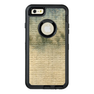 gray-blue background watercolor 6 OtterBox defender iPhone case