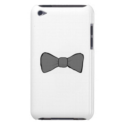 Gray Bow Tie iPod Touch Covers