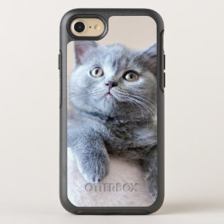 Gray British Shorthair Cat OtterBox Symmetry iPhone 8/7 Case