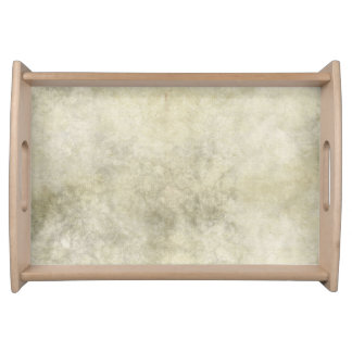 Gray Brown Marble Look Serving Tray