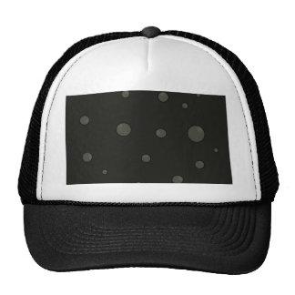 Gray bubbles cap
