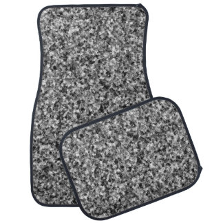 Gray Camouflage Car Mat Full Set