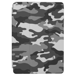 Gray Camouflage Pattern iPad Air Cover
