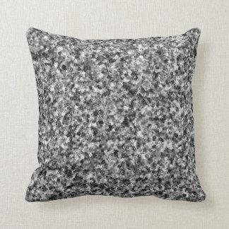 Gray Camouflage Throw Pillow