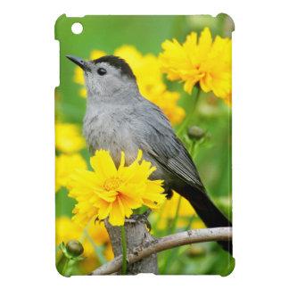 Gray Catbird on wooden fence iPad Mini Cases