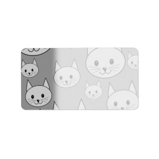 Gray Cats. Label