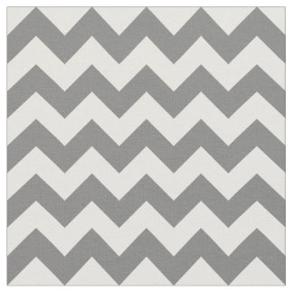 Gray Chevron Fabric, Nursery Fabric
