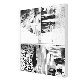 Gray City Stones Canvas Print