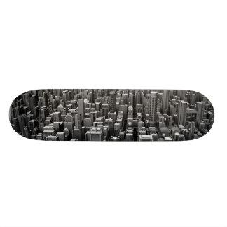 Gray Cityscape Skateboards