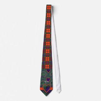 Gray clan Plaid Scottish kilt tartan Tie