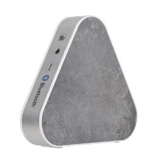 Gray Damasks grungy Bluetooth Speaker