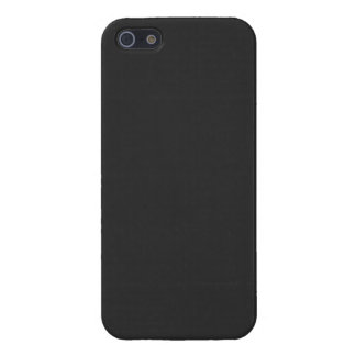 Gray Dark Grey Color Trend Blank Template iPhone 5 Cases