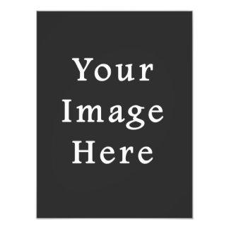Gray Dark Grey Color Trend Blank Template Photo