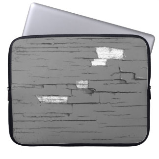 Gray Digital Art Graphic. Picture of Paint. Laptop Sleeve