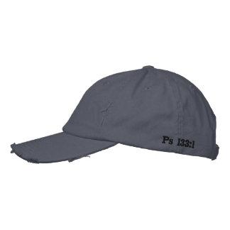 Gray Distressed CRC Hat