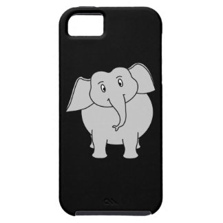 Gray Elephant. iPhone 5 Cover