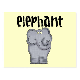 Gray Elephant Tshirts and Gifts Post Cards