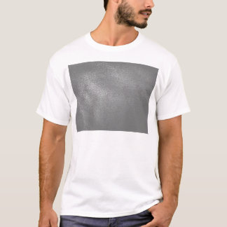 Gray (Faux) Leather Look T-Shirt