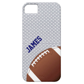 Gray Football Custom iPhone 5 Case