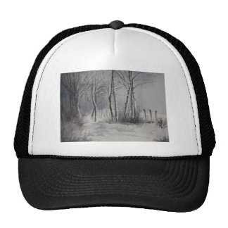 Gray Forest Cap