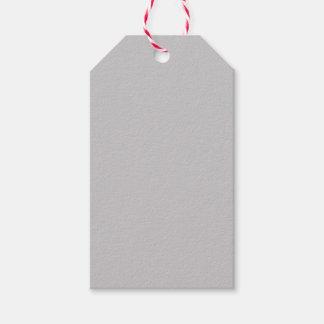 Gray Gift Tags