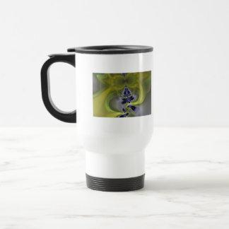 Gray Goblin in Green, Fun Spooky Imp Coffee Mug