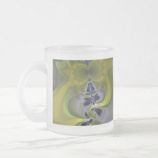 Gray Goblin in Green, Fun Spooky Imp Coffee Mugs