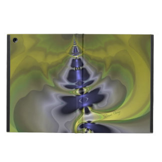 Gray Goblin in Green, Fun Spooky Imp iPad Air Case