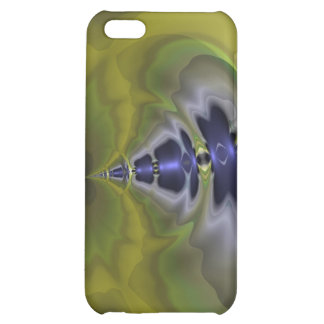 Gray Goblin in Green, Fun Spooky Imp Case For iPhone 5C