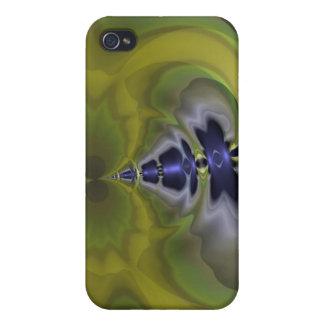 Gray Goblin in Green, Fun Spooky Imp Case For iPhone 4