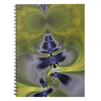 Gray Goblin in Green, Fun Spooky Imp Spiral Note Book