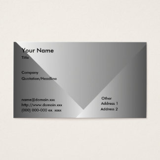 Gray Gradient-Business Business Card
