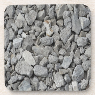 Gray Granite Pebbles Coaster