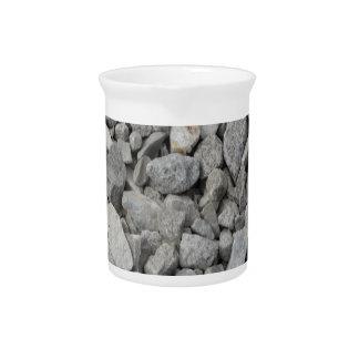 Gray Granite Pebbles Pitcher