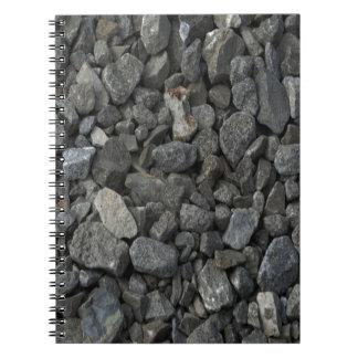 Gray Granite Rock Notebook