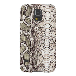 Gray Green Snake Skin Print Galaxy S5 Covers