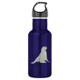 Gray/Grey Sea Lion 532 Ml Water Bottle