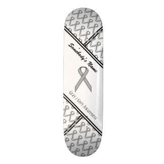 Gray / Grey Standard Ribbon Skateboard Decks