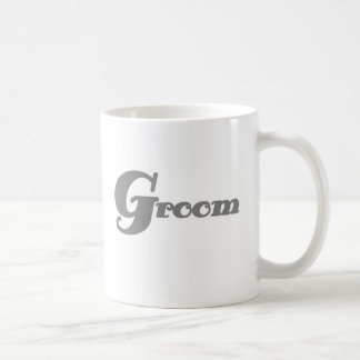 Gray Groom Coffee Mug