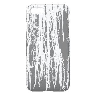 Gray Grunge Drip iPhone 7 Case