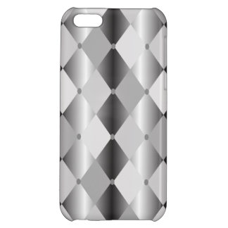 Gray Harlequin Cover For iPhone 5C