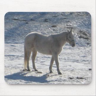 Gray Horse Mousepad
