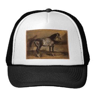 Gray horse rack by Theodore Gericault Cap