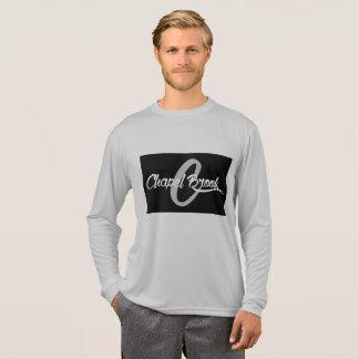 gray j wear design long sleeve sport tek shirt