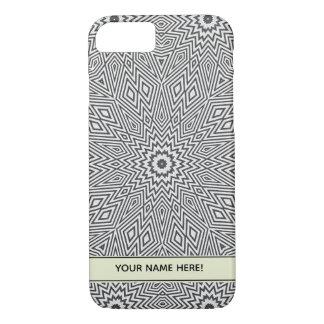 Gray Kaleidoscope Star iPhone 8/7 Case